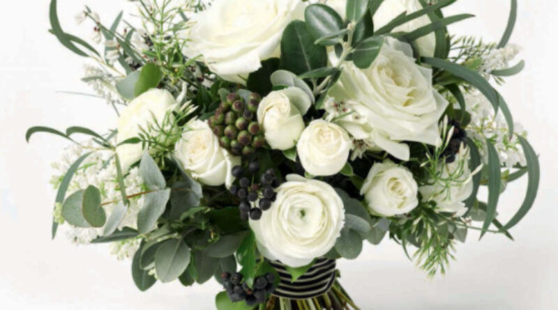 bouquet total white
